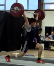 Ian - 125kg Good Jerk