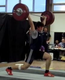 Ian - 125kg Good Jerk